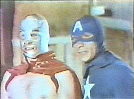 Santo + Captain America going Turska