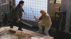 Sho Kosugi vs. American Zatoichi