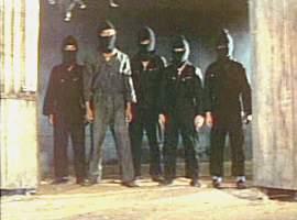 Ninja-lookalike gang!