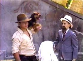 Indy, Sallah i pas koji glumi majmuna... :)