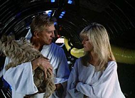 Stari Kirk i mlada Fawcettova u laganom chillanju u okolici Saturna