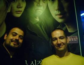 Hrvatska delegacija na ulasku u kino dvoranu