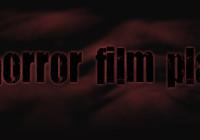 Horror film playground