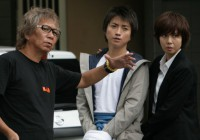 Takashi Miike i protagonisti Tatsuya Fujiwara i Nanako Matsushima
